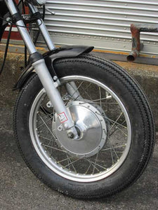 2%er Short Front Fender STD [SR400/500]