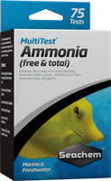 Seachem MultiTest: Ammonia 75Tests