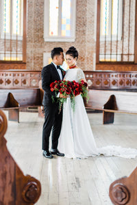 2PM-3PM 10/23/2020 | New Orleans Micro Wedding at Felicity Church | Minimal Matrimony