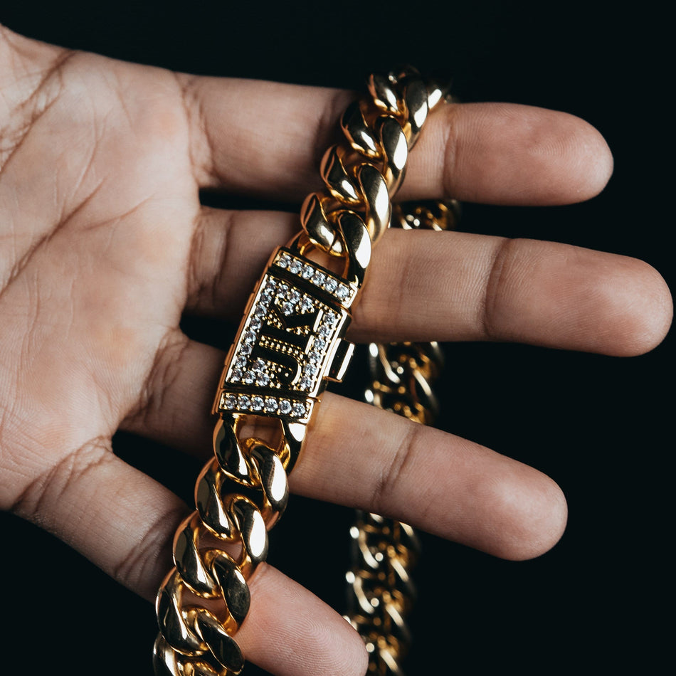 16MM Premium Gold Miami Cuban Chain