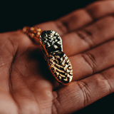 All Gold TN Shoe Pendant