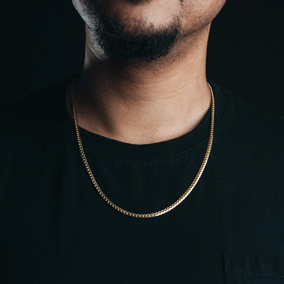 Gold Tight Link Cuban Chain