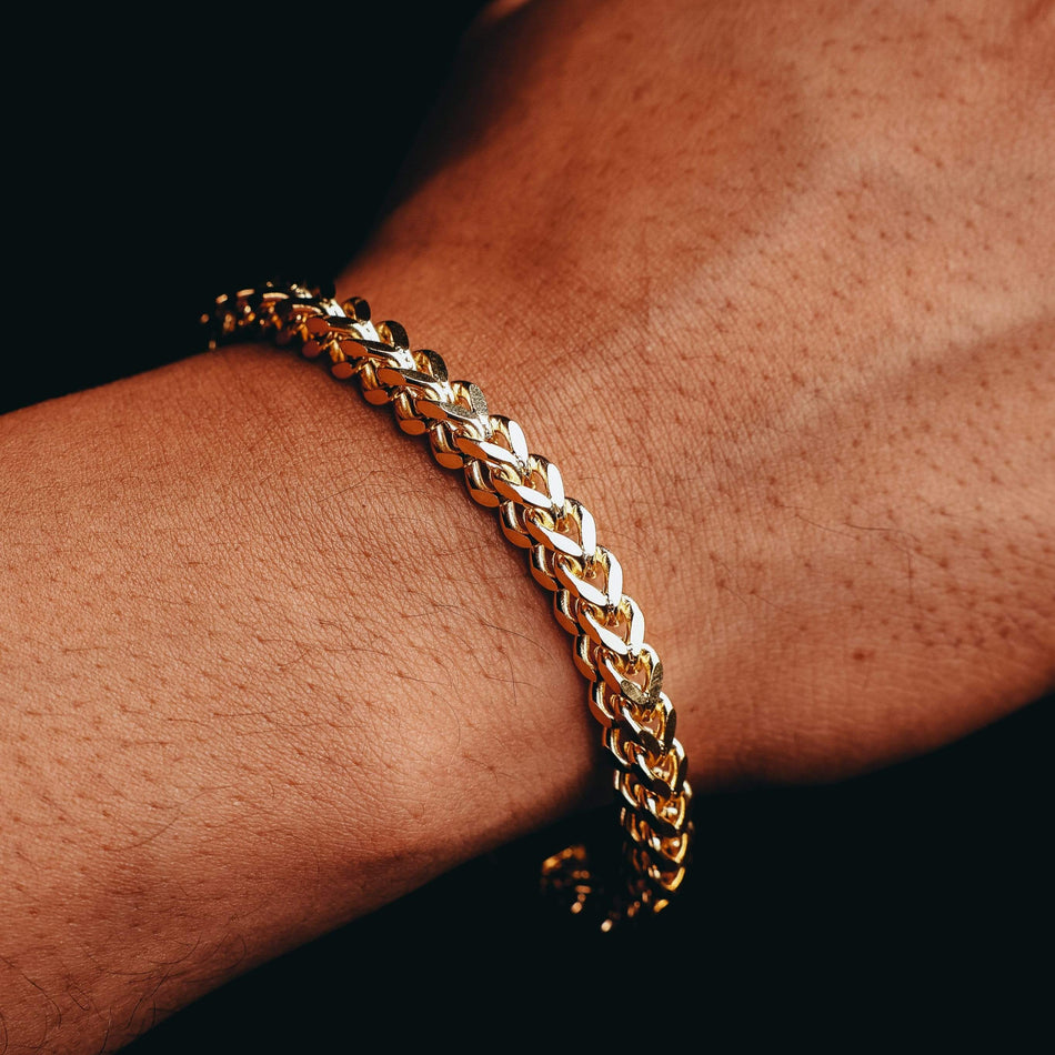 6MM Gold Franco Bracelet