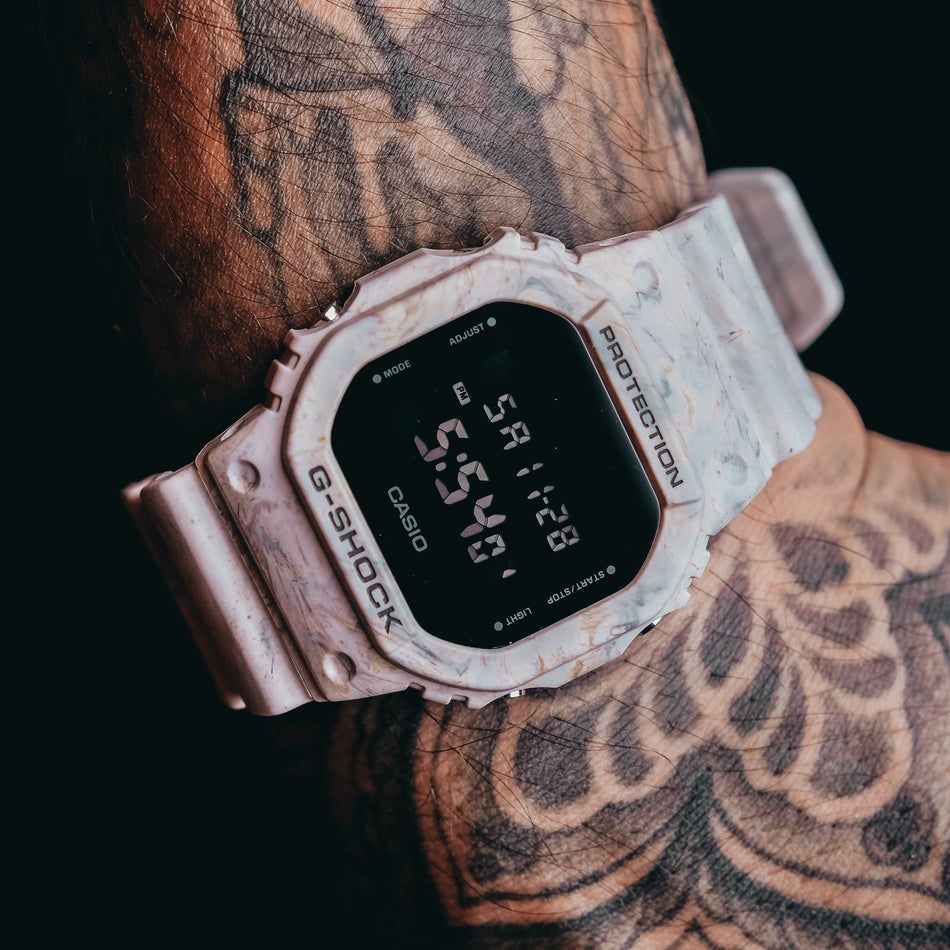 Casio G Shock DW-5600WM-5DR Watch
