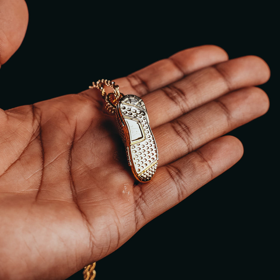 Gold NMD Shoe Pendant