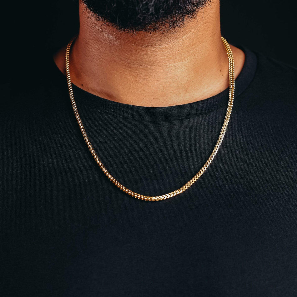Gold Mini Franco Chain