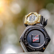Gold Iced Out G Shock GD-100 Watch