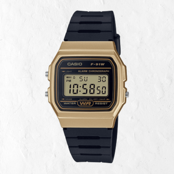 Vintage Casio F91WM-9A Watch