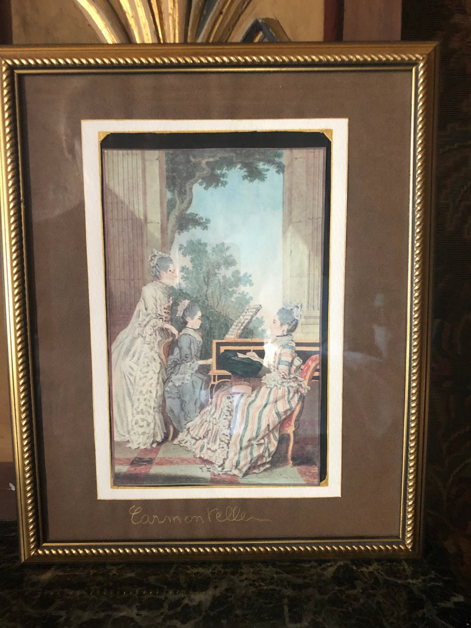 Fa2483 Framed French print