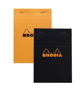 Orange Lined Rhodia Notepad