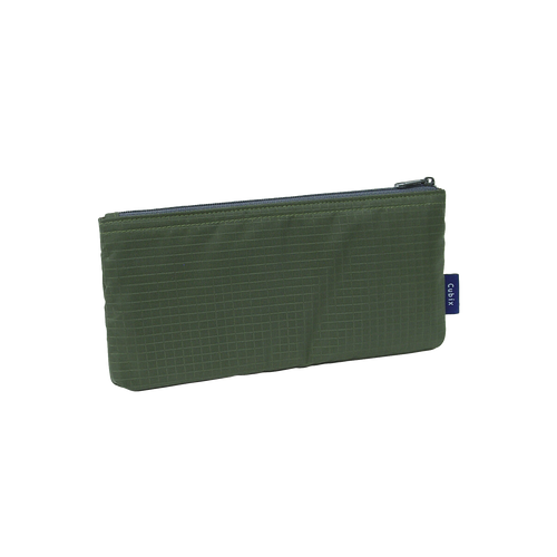 Khaki Nylon Pencil Case