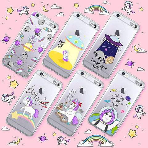 Galaxy Unicorn Phone Cases