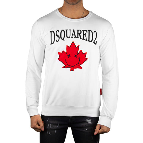 Dsquared2 White Sweatshirt