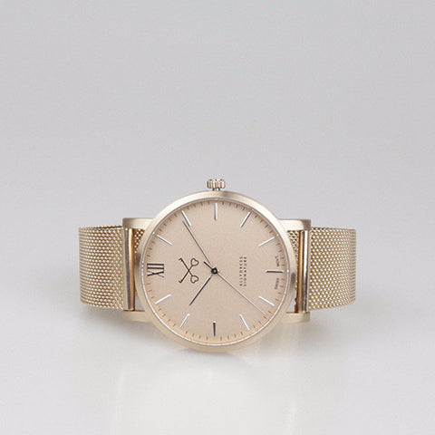 Allydress signature Rose Gold Watch