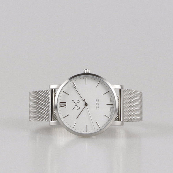 Allydress signature Silver Watch