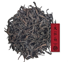 wuyi da hong pao oolong tea by jing tea shop