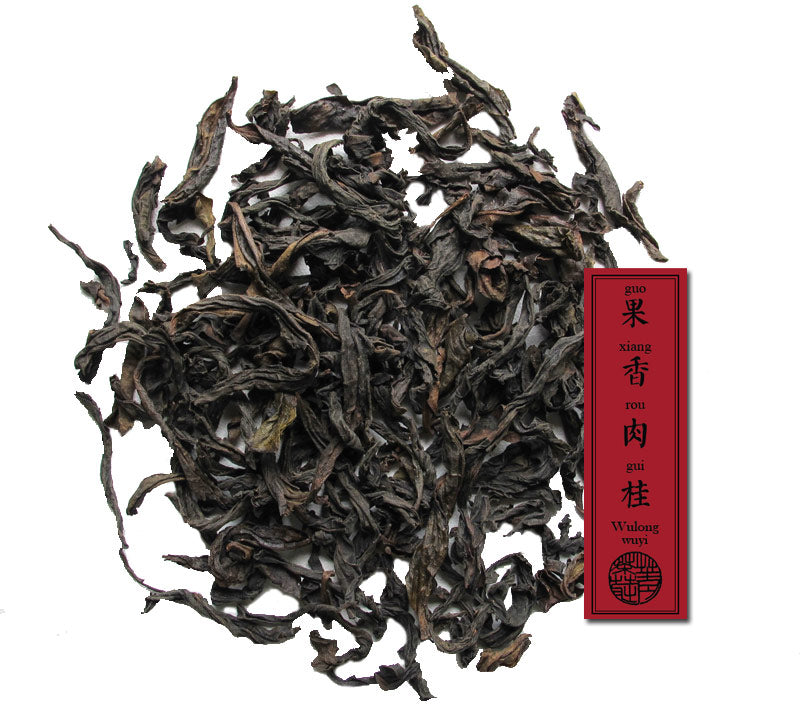 Wuyi Fruity Rou gui oolong tea from Jing tea shop's private tea fields