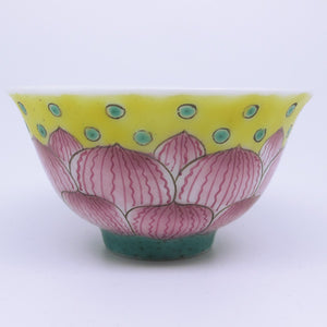 Fen Cai porcelain tea cup by Jing Tea Shop