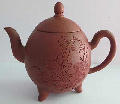 Si Ting Long Dan yixing teapot by jing tea shop