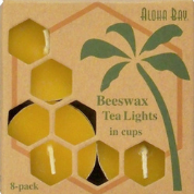 Aloha Bay Beeswax Tea Lights