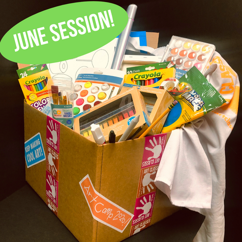 Art Camp in a Box: June 15-19 Session