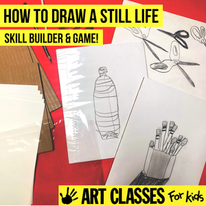 BEGINNER - Still Life Drawing Introductory Class