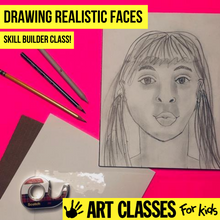 Load image into Gallery viewer, ADVANCED - Drawing Realistic Faces