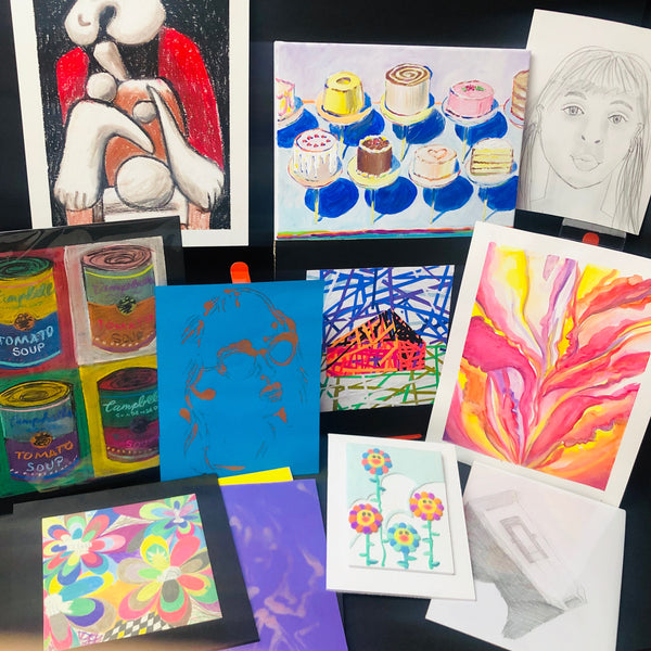Art Camp in a Box: July 13-17 Session