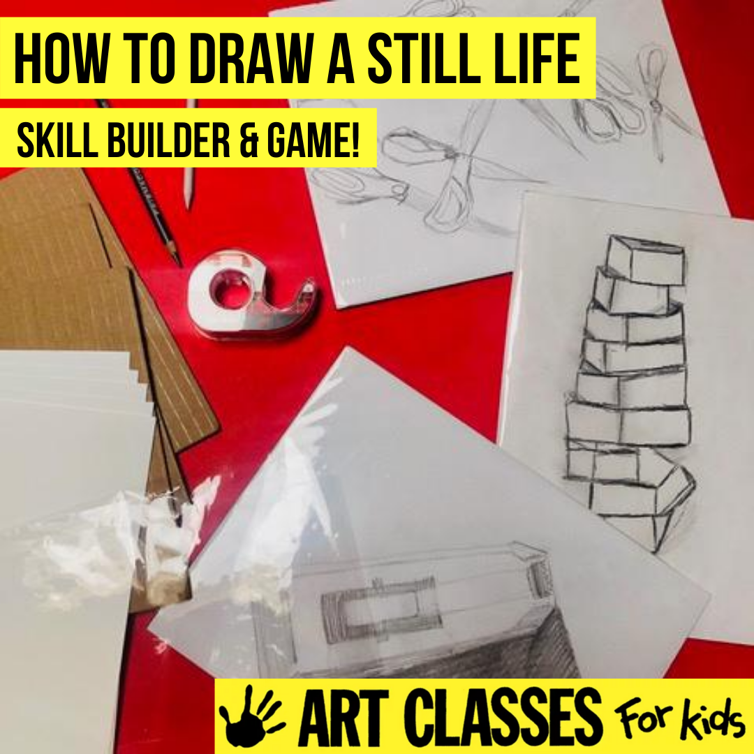 ADVANCED - Still Life Drawing Introductory Class