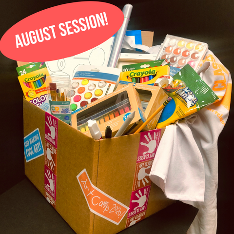 Art Camp in a Box: August 3-7 Session