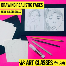 Load image into Gallery viewer, BEGINNER - Drawing Realistic Faces