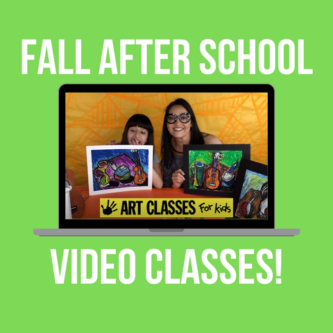 Fall Semester ART CLASSES - VIDEO ONLY