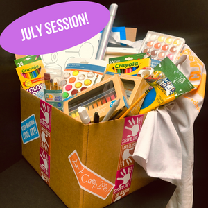 Art Camp in a Box 2021: July 12-16 LIVE Session