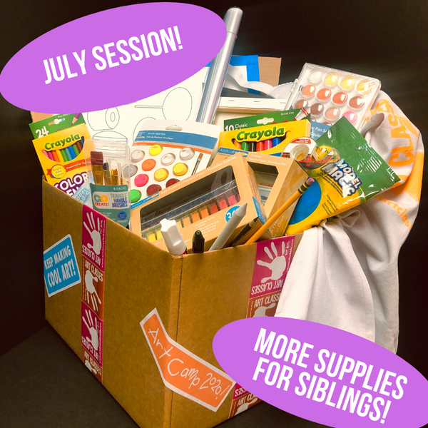Art Camp in a Box: SIBLINGS July 13-17 Session