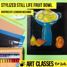 Load image into Gallery viewer, BEGINNER - Leonard McComb Inspired Chalk Pastel
