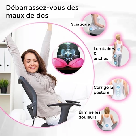 fitkry coussin anti mal de dos