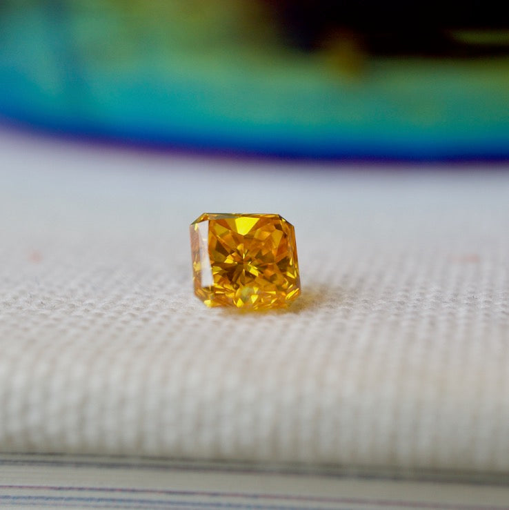 Yellow Eterneva Memorial Diamond
