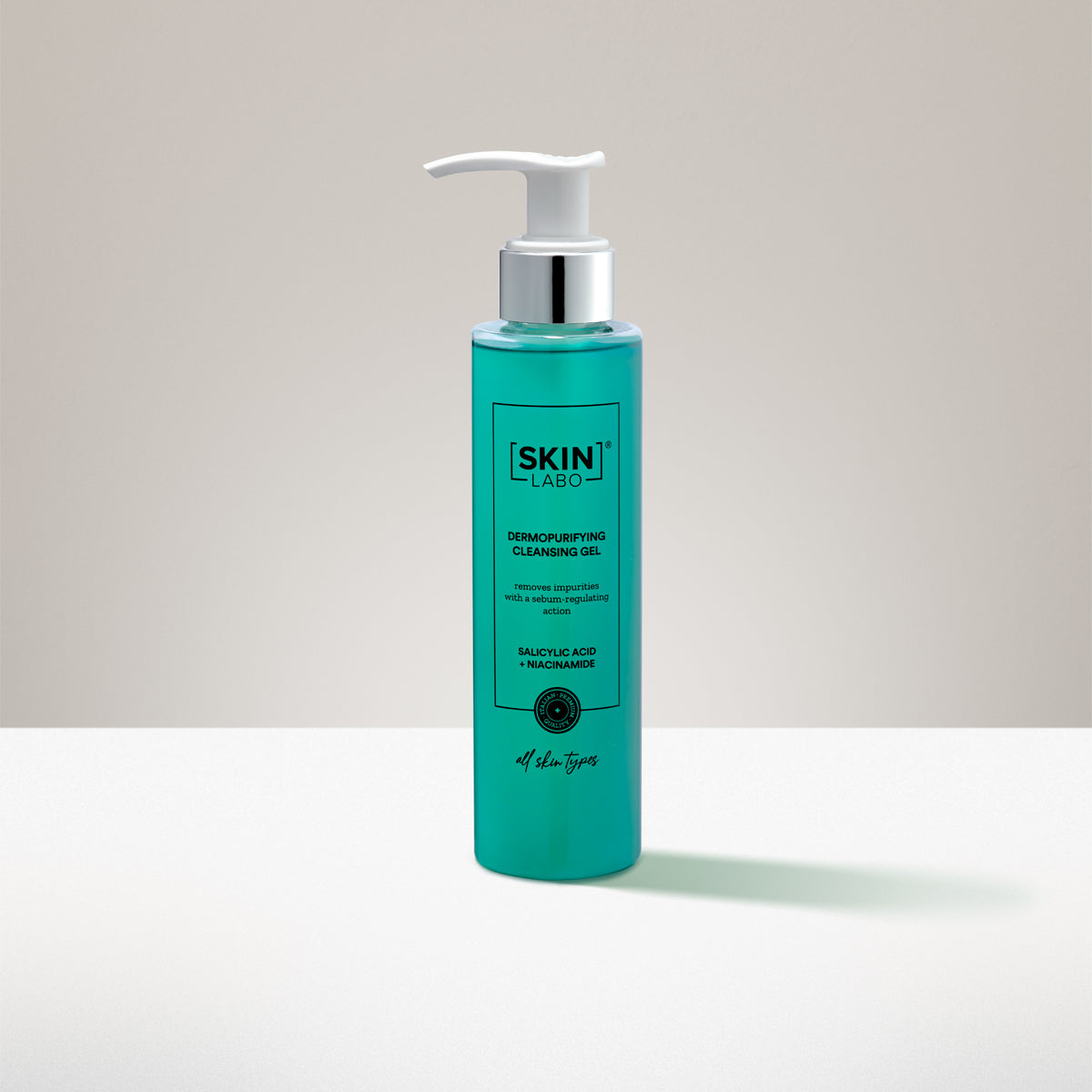 DERMOPURIFYING FACE CLEANSING GEL