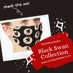 Black Swan Face Mask