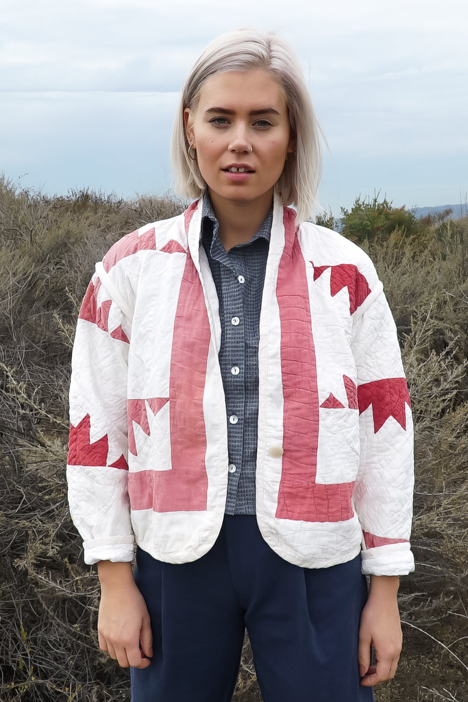 Red River Rocks Juniper Cropped Coat