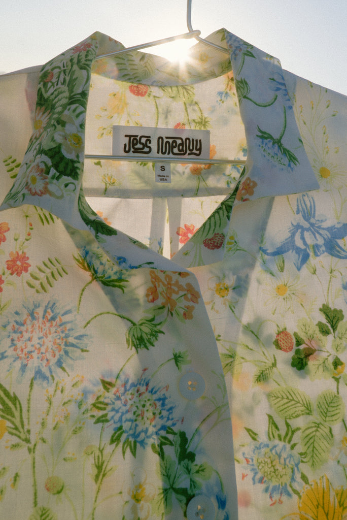 Wildflower Bouquet Laguna Lounge Shirt