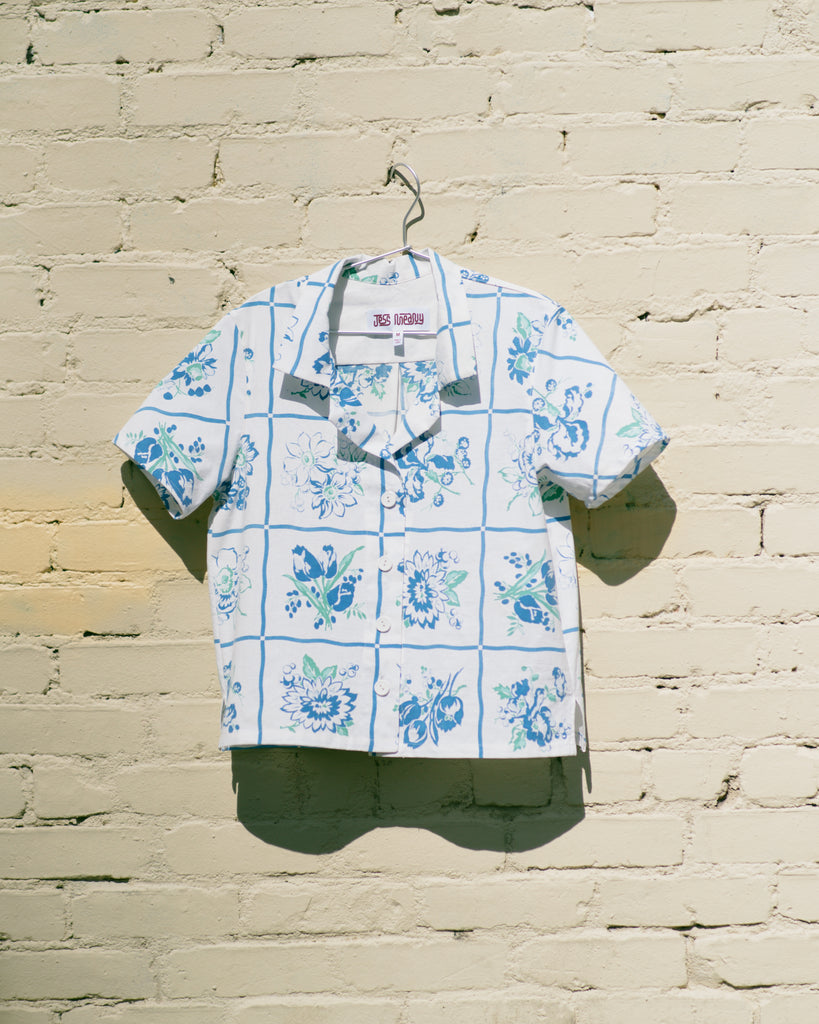 Pastel Windowpane Laguna Lounge Shirt