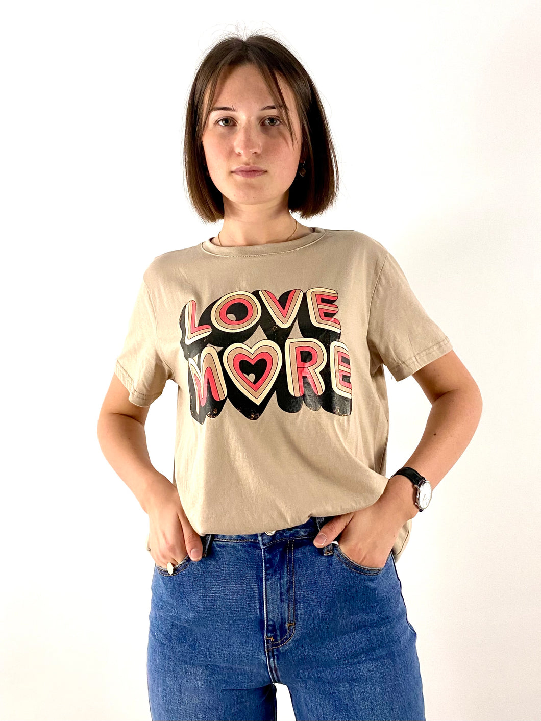 Tee-shirt LOVE MORE