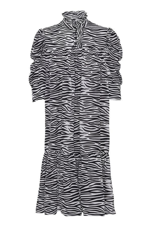 Liva  Dress - Zebra