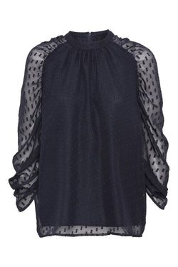 Izzy Blouse - Phantom
