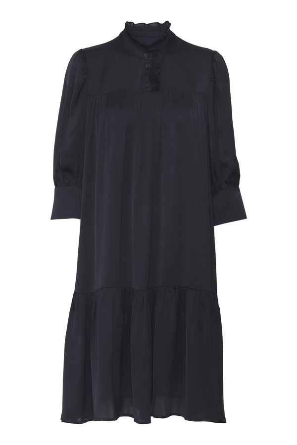 Liva  Dress - Navy
