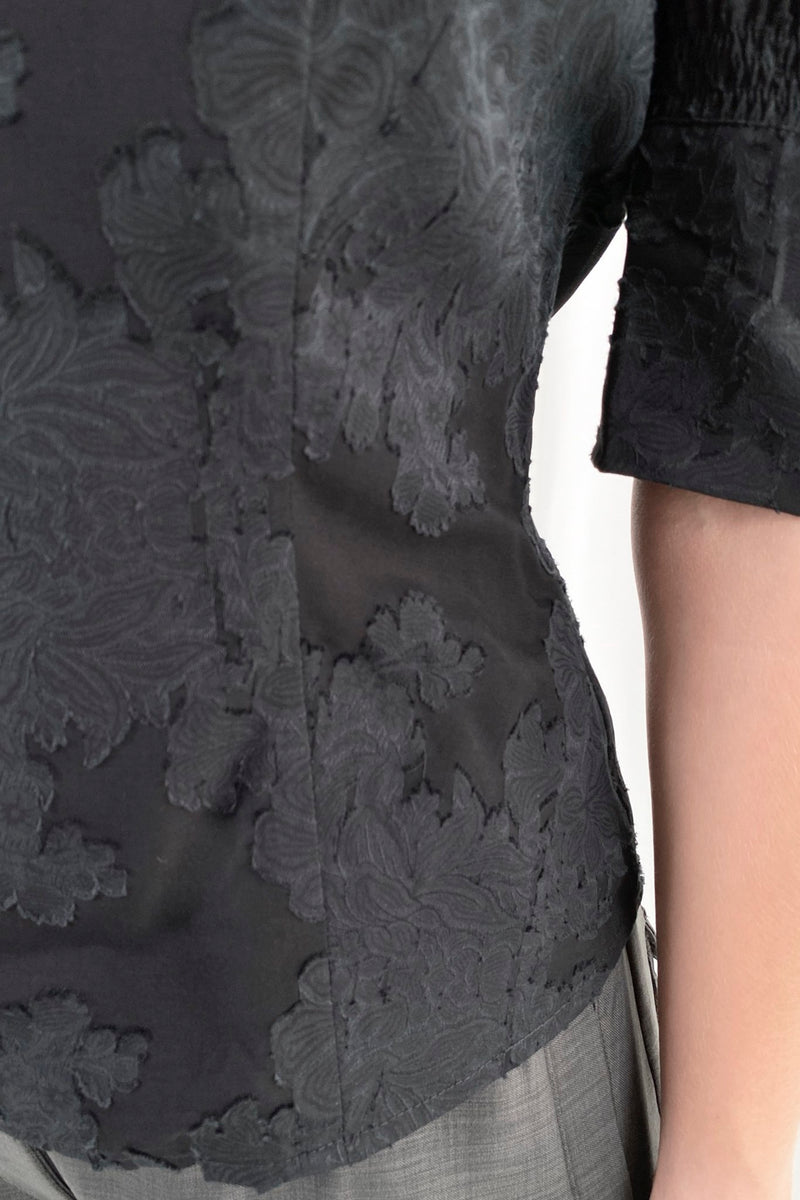 Wiliam Ltd Blouse - Black - Black