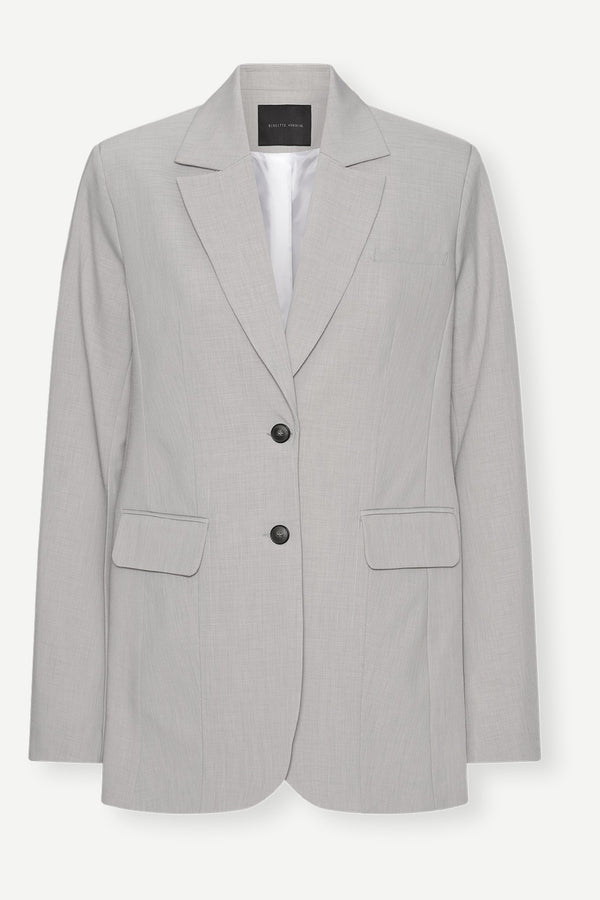 Mercy Blazer - Light Grey