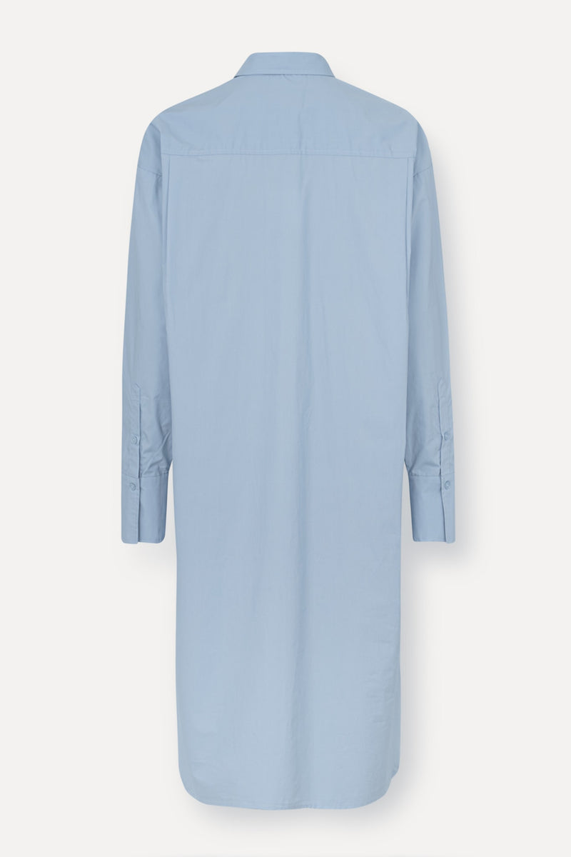 Nilly Shirt Dress - Ligth Blue - Light Blue
