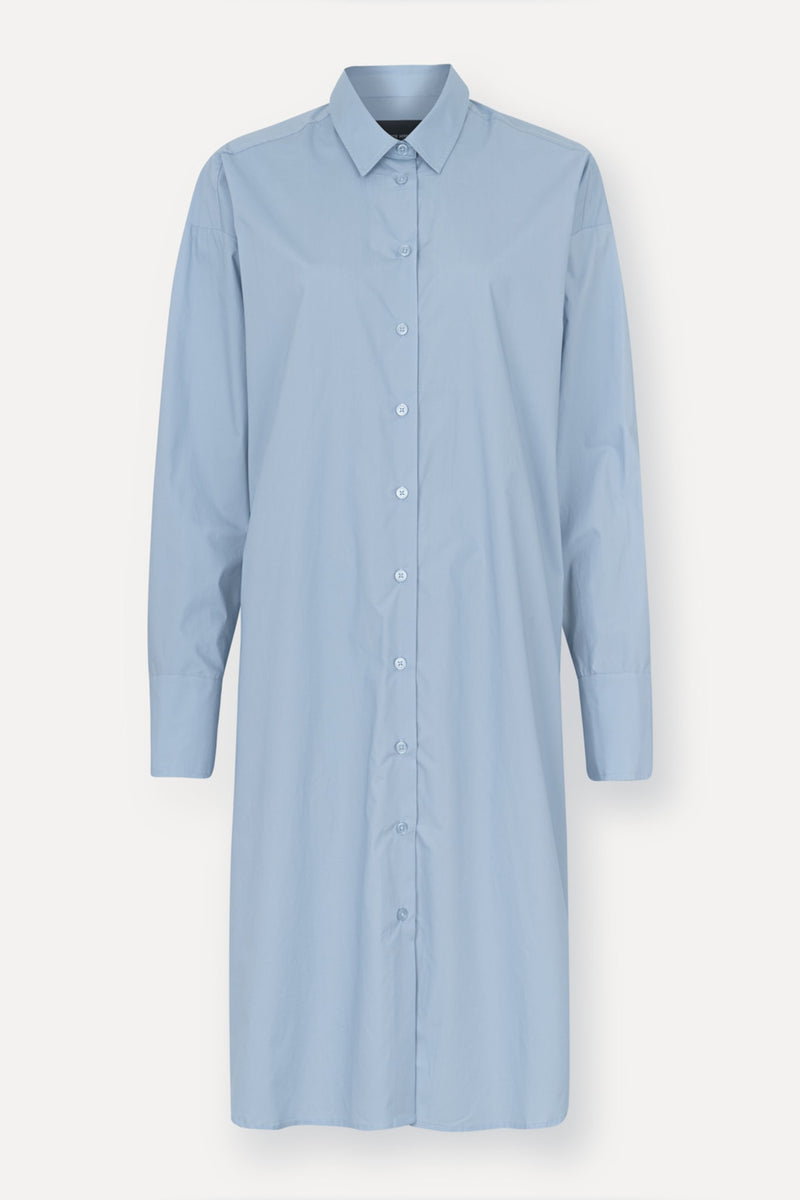 Nilly Shirt Dress - Ligth Blue